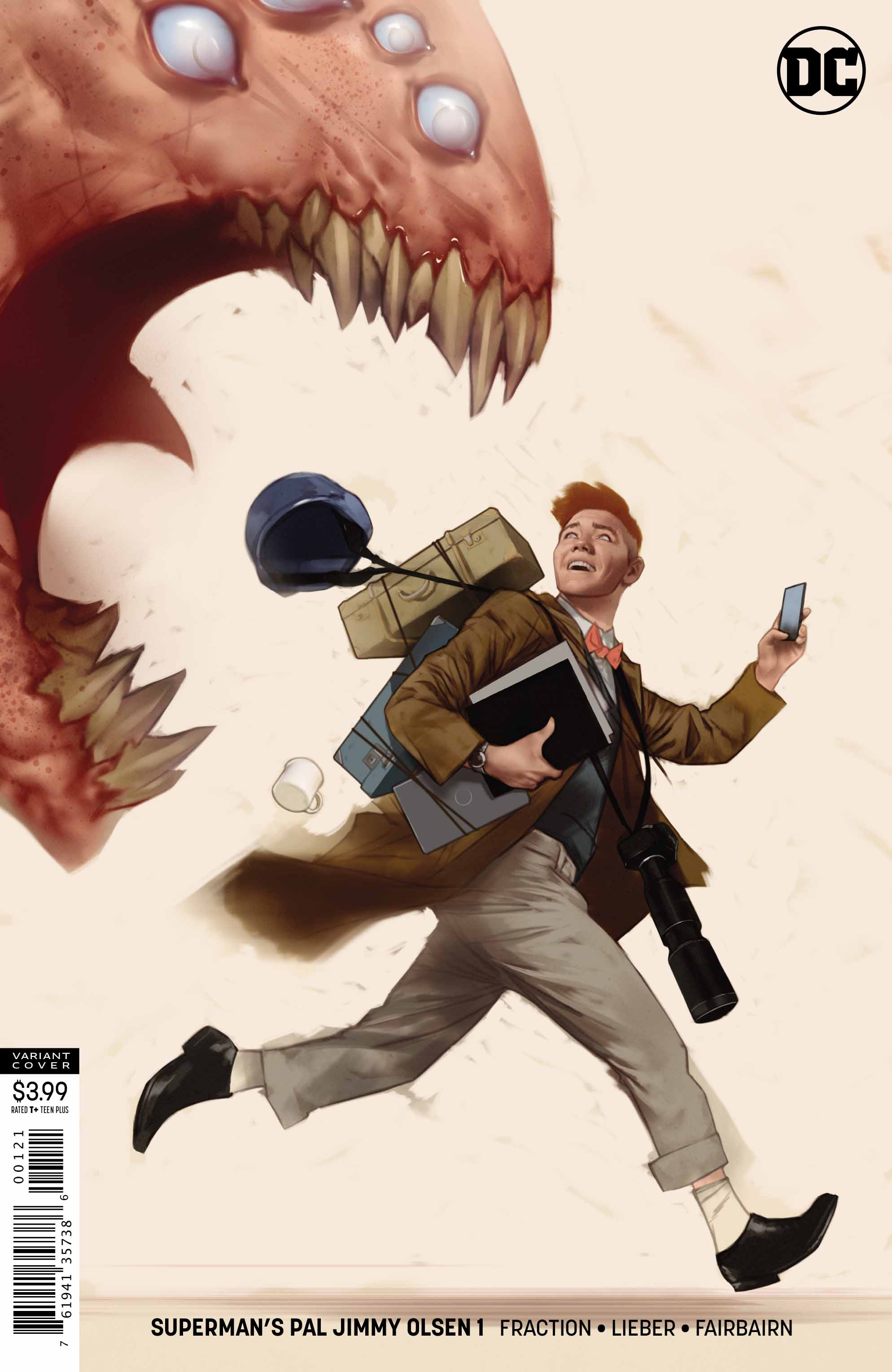 superman's pal jimmy olsen #1 variant 2019 cover