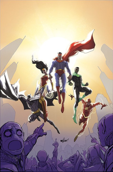 JUSTICE LEAGUE #38 FLASH 75 STANDARD COVER