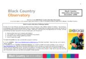 Black Country Education Barometer