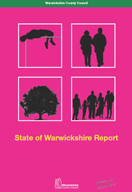 Cover of State of Warwickshire 2008 Report