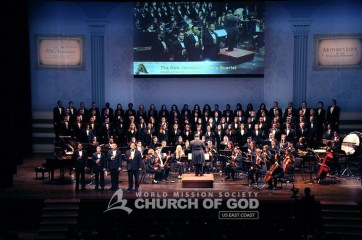 jubilee, 50th anniversary, World Mission Society Church of God, WMSCOG, Church of God, Mother's love, global harmony, key to harmony, orchestra, strings, amazing grace, dancing, NJPAC,The New Jerusalem Choir and Orchestra, Choir, orchestra