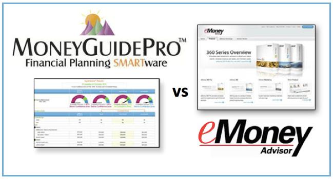 eMoney Advisor vs  MoneyGuidePro: Which is the Best