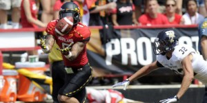 WR Deon Long looks to bounce back after breaking his tibia and fibula last season. (Courtesy of UMTerps.com)
