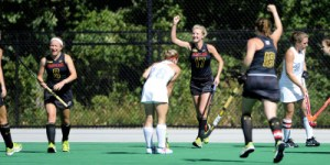 Maryland earns their fourth straight win with a 3-1 victory over No. Old Dominion. (Courtesy of UMTerps.com)