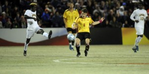Mael Corboz proved to be a vital asset for the Terps this season, finishing the season with a team-high 10 goals. (Courtesy of UMTerps.com)