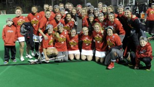 The undefeated Terps captured their first-ever Big Ten title (Courtesy of UMTerps.com)