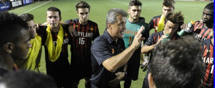 Terps fall to Akron 3-2. (Courtesy of UMTerps.com)
