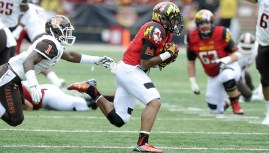 Terps fall to Bowling Green 48-27. (Courtesy of UMTerps.com)