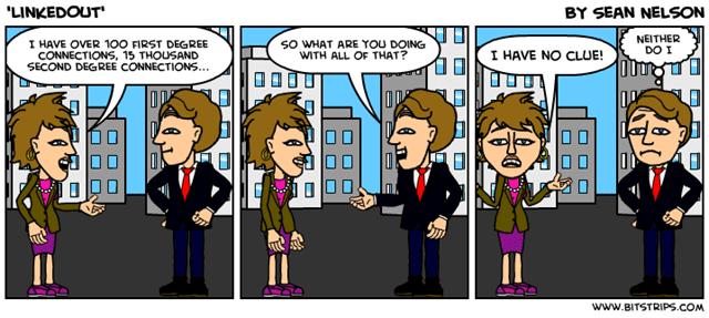 linkedout-clueless