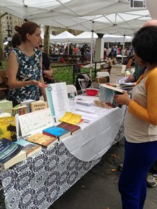 Brooklyn Book Fest Booth 2014