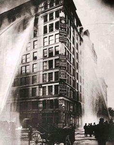 Triangle Shirtwaist Factory fire - WNBA NYC
