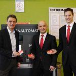 Kreissparkasse und Stadt St. Wendel stellen neue Zahlmethode vor