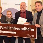 """Nonnweiler und Tholey sind """"Familienfreundliche Kommunen"""""""