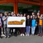 Erkundung des Globus Baumarkt St.Wendel durch die Gemeinschaftsschule St.Wendel