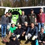 Der Nationalpark Hunsrück-Hochwald bekam tatkräftige Unterstützung von Teilnehmern der Flüchtlingsmaßnahme Alpha-JobFit