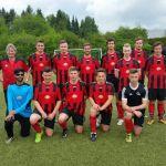 Schulmannschaft des KBBZ St. Wendel spielt gegen Geflüchtetenteam