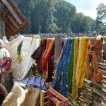 Otzenhausen: Wolle färben wie vor 2000 Jahren