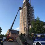 Freisen: Feuerwehr übte Rettung aus großer Höhe
