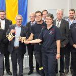 Bergweiler: neues Feuerwehrgerätehaus feierlich eingeweiht