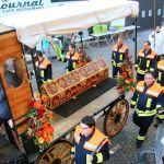 St. Wendel: Prozession mit den Gebeinen des Heiligen Wendelin zur Jubiläums-Wallfahrt