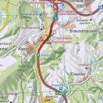 Autobahnabfahrt Braunshausen wird saniert