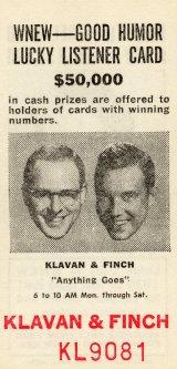 Klavan and Finch