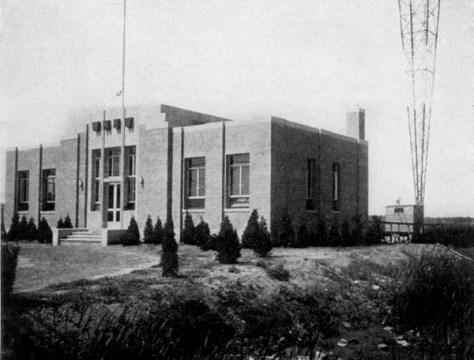 WNEW transmitter 1939