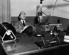 Martin Block in studio 1948