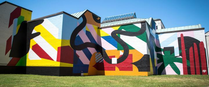 Art On Buildings