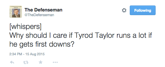 Let Tyrod Do Tyrod by @BradleyGelber