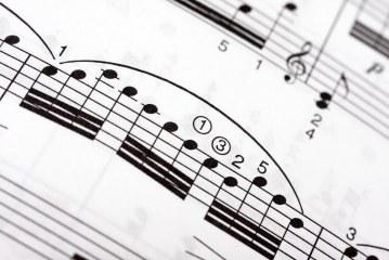 A piece of sheet music