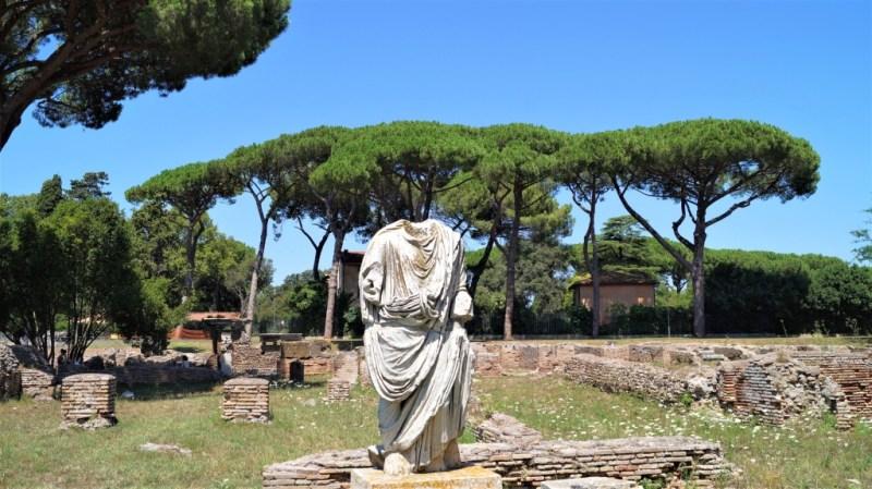 Ostia Antica - Versorgunntrum von Rom