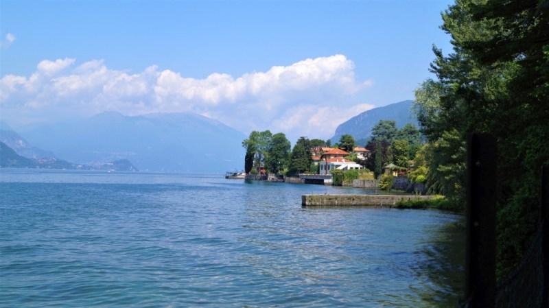 Blick auf den Comer See - Italien hatte tolle Landschaften