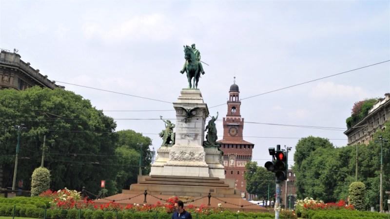 Castello Sforzesco in Mailand