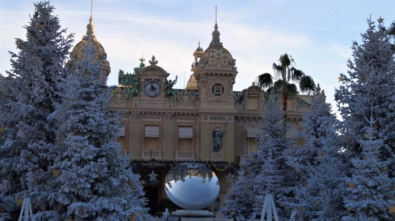 Casino Monte Carlo im Winter