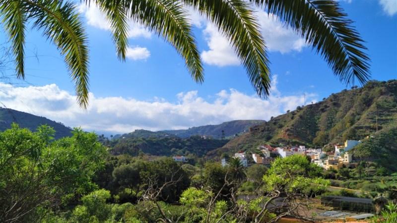 Blick in das Hinterland von Gran Canaria