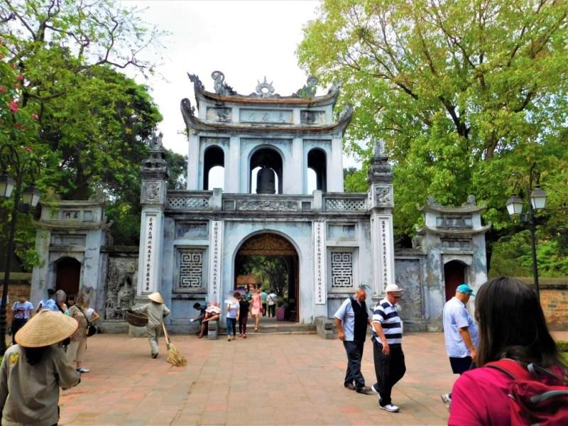 Literaturtempel in Neu-Hanoi - Vietnam