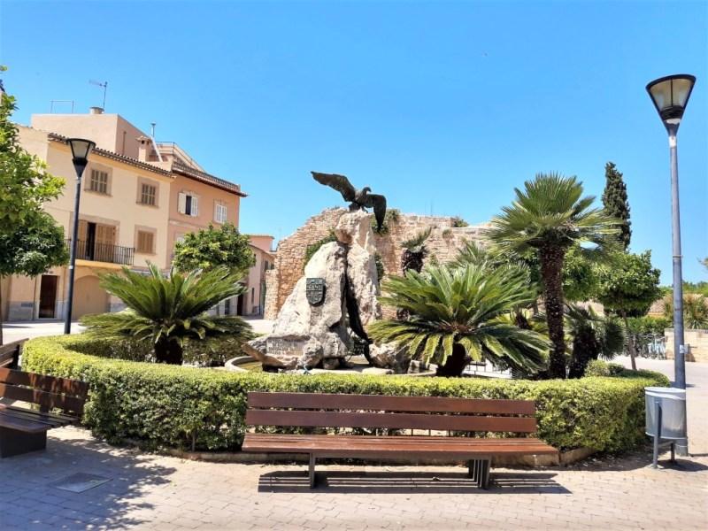 Ein Platz zum Ausruhen in Alcudia