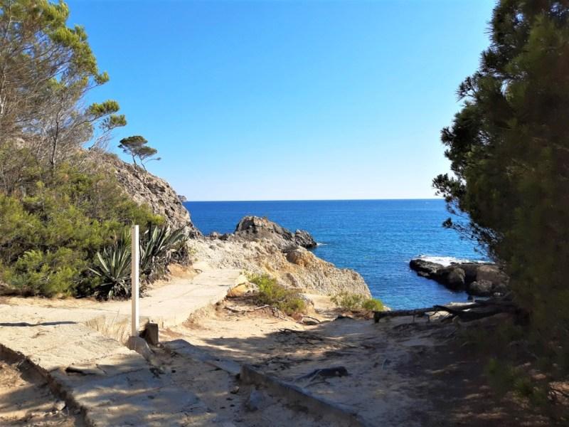 An den Buchten von Playa Romana auf Mallorca