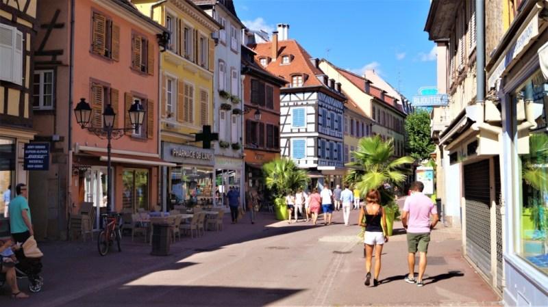 Fußgängerzone in Colmar