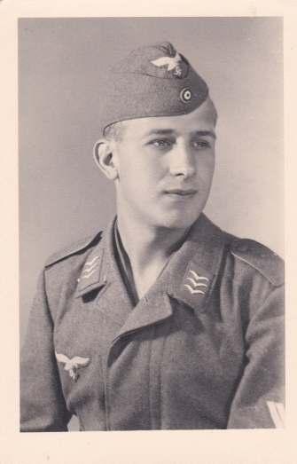 Foto Obergefreiter uniform soldaat Luftwaffe Wo2
