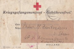 kriegsgevangenenpost Rote Kreuz