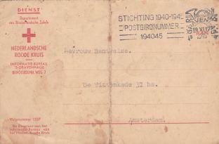 Nederlandsche roode kruis wo2 Concentratiekamp
