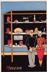 Spotprent museum hongerwinter 1944