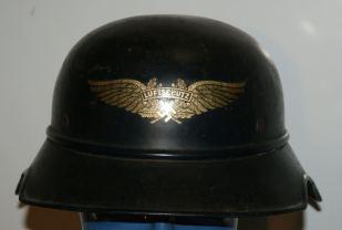 Duitse helm wo2 Luftschutz decal