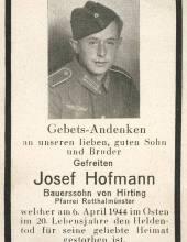 Bidprentje 1944 uit de tweede wereldoorlog wo2