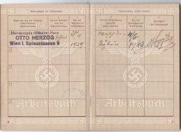 Arbeitsbuch Wien1943 wo2