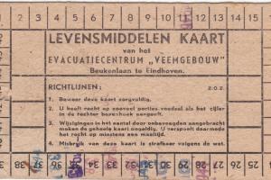 Levensmiddelen kaart Veemgebouw Eindhoven
