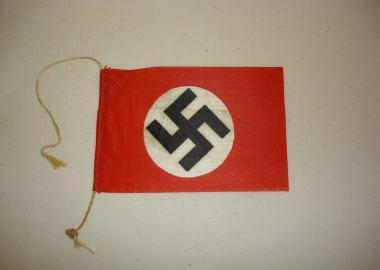 Hakenkruis vlag uit de tweede wereldoorlog