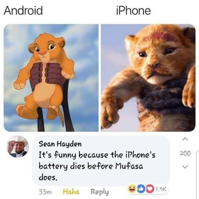 40 Funniest Iphone Vs Android Memes Updated 2020 Summer